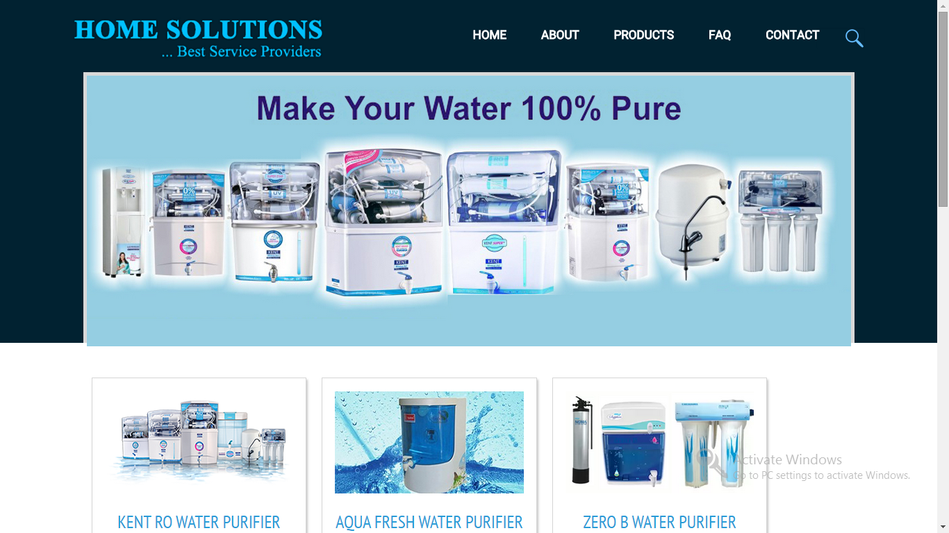 Home Solution  Web Designing & Development